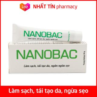 Kem bôi da NANOBAC giảm mụn thâm, làm mờ sẹo sau thủy đậu, sởi, zona - Tuýp 20g thumbnail