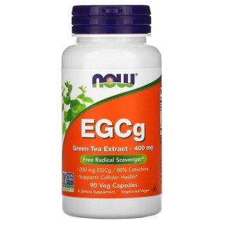 Hỗ-trợ giảm-cân, Now Foods, EGCg, Green Tea Extract, 400 mg thumbnail