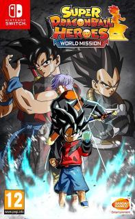 Đĩa game Nintendo Switch Super Dragonball Heroes World Mission thumbnail