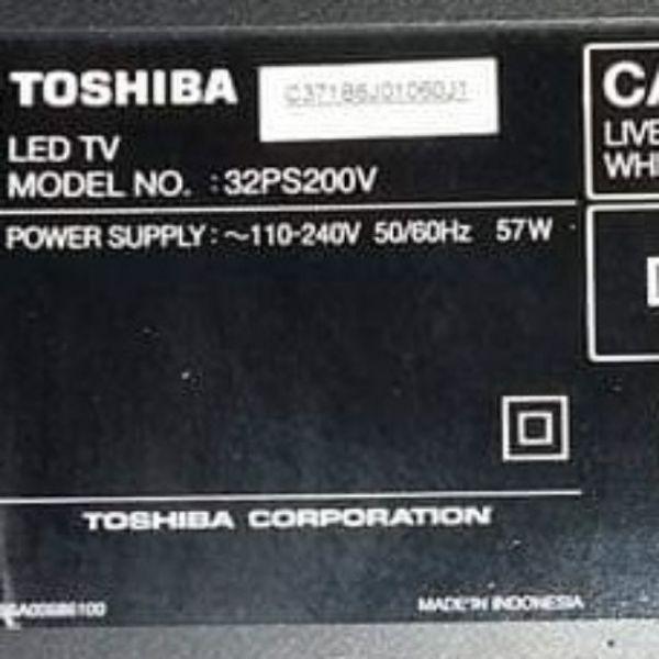 Bảng giá Bo mạch nguồn Tivi Toshiba 32PS200V Điện máy Pico
