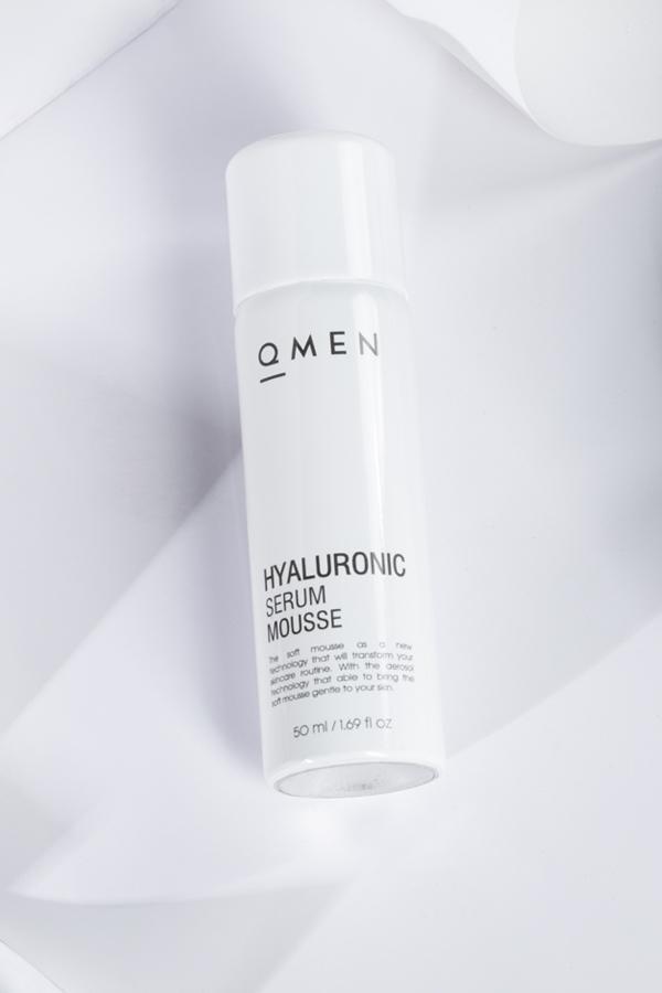 Qmen Hyaluronic Serum Mousse 50ml - Serum dưỡng da mặt sáng mịn tốt nhất