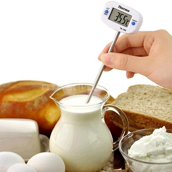 Nhiệt kế đo nhiệt độ nước pha sữa ,thức ăn cho bé