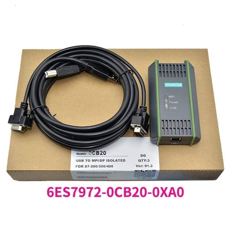Bảng giá Cáp lập trình tương thích 6ES7972-0CB20-0XA0 cho Siemens S7-200/300/400 PLC Phong Vũ