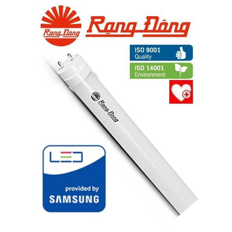 Bóng Đèn Led Tube Rạng Đông 18W, Vỏ Nhôm&Nhựa, Chipled Samsung, 120Cm