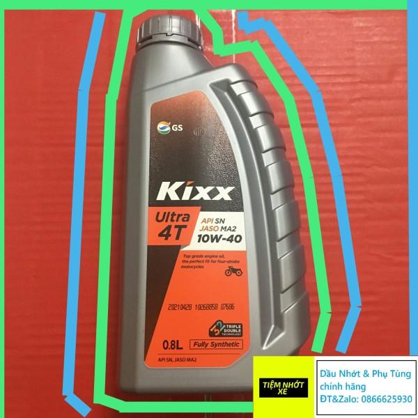 Nhớt xe số tổng hợp toàn phần Kixx Ultra 4T Fully Synthetic 10w40