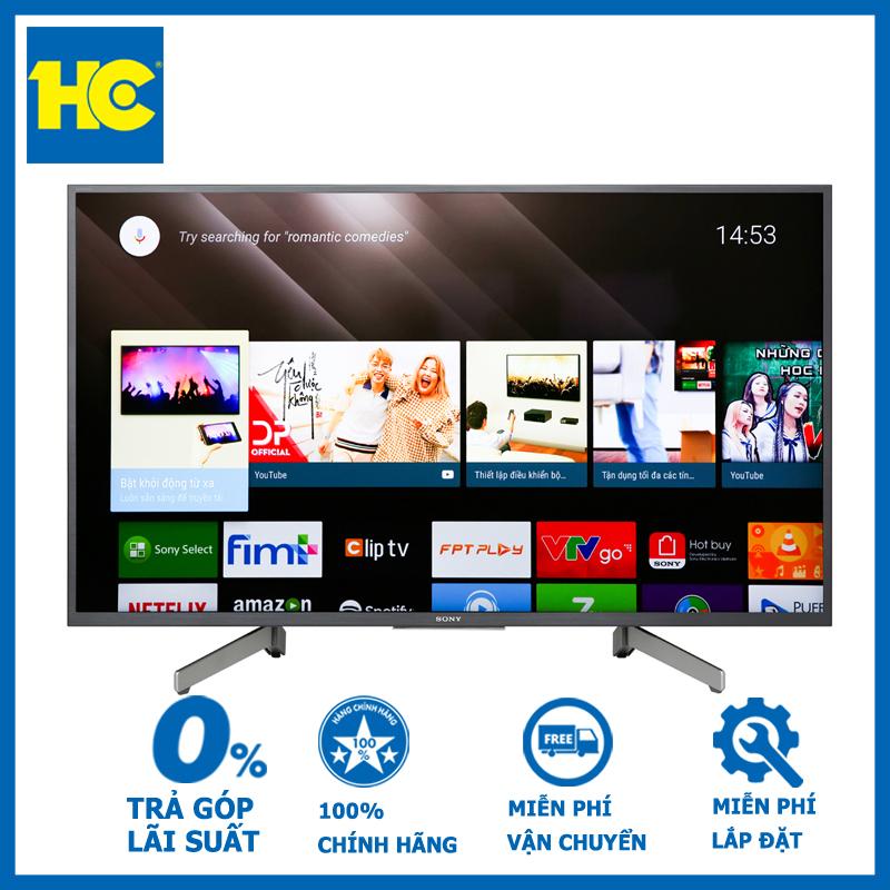 Bảng giá Smart Tivi Sony 4K 43 inch KD-43X8000G - Bảo hành 2 năm - Miễn phí vận chuyển & lắp đặt - hỗ trợ trả góp