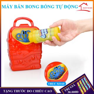 Bình phun bong bóng xà phòng tự động cầm tay ,món quà dành cho bé thumbnail