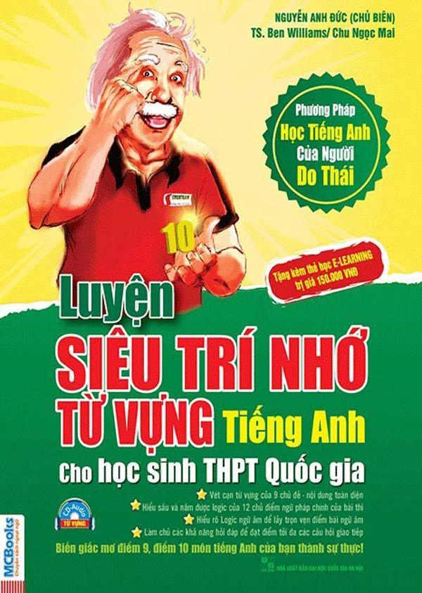 Mua Luyện siêu trí nhớ từ vựng tiếng anh dành cho học sinh THPT quốc gia