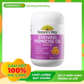 Viên Uống Chiết Xuất Tinh Dầu Hoa Anh Thảo Chiều Nature s Way Primrose Oil 1000mg 200 Viên - Greenoly Việt Nam phân phối chính hãng thumbnail