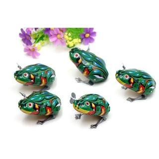 Đồ chơi ếch vặn dây cót bằng kim loại thumbnail