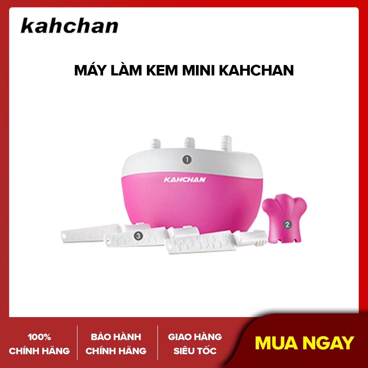 Máy làm kem mini Kahchan (Hồng)