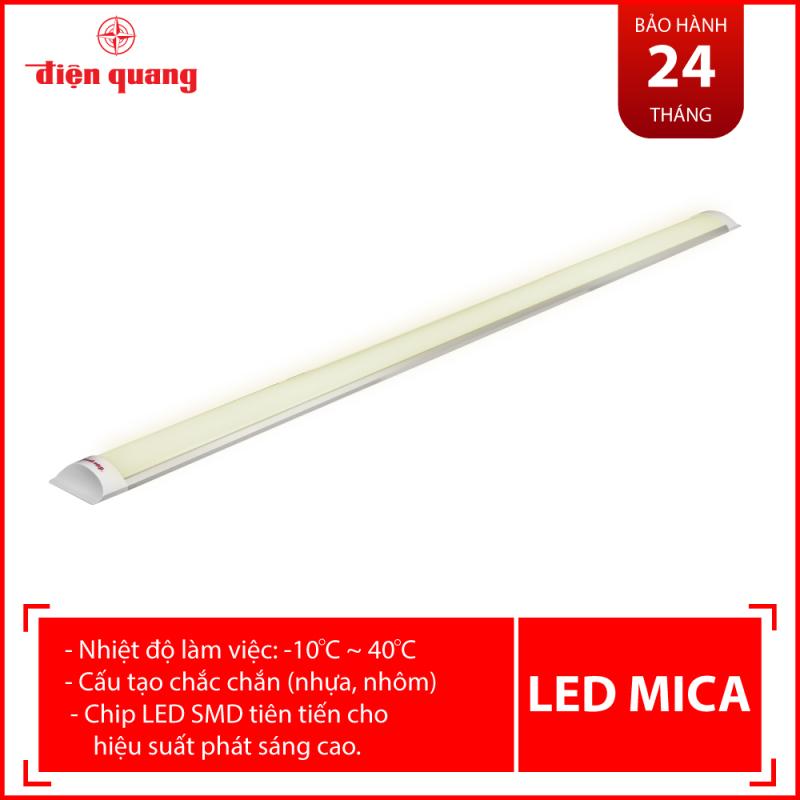 Bộ đèn LED MICA SMART Điện Quang ĐQ LED MF02RF 367CCT (36W, điều chỉnh độ sáng và nhiệt độ màu, không kèm remote, nhôm nhựa)