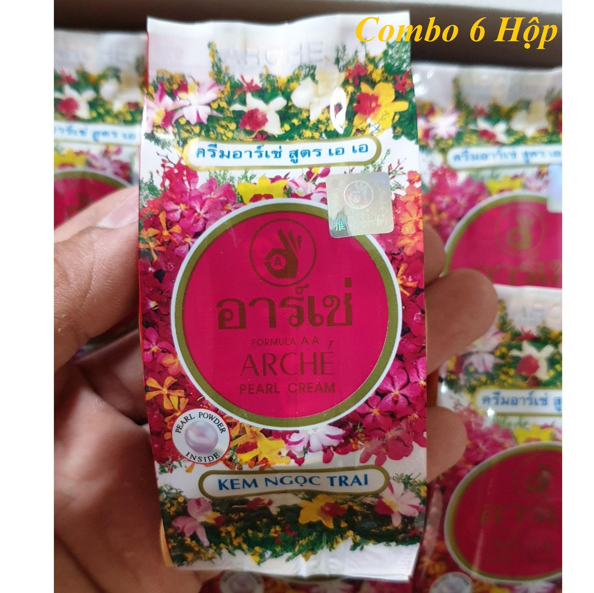 6 Hộp Kem ArChé - Thái Lan - Mới Nhất - 3g - Thanh Loan