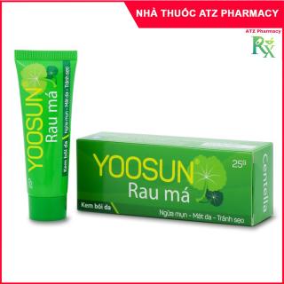 Yoosun Rau Má (25g) - Kem bôi da giúp làm mát da, giảm mẩn ngứa - atzpharmacy thumbnail
