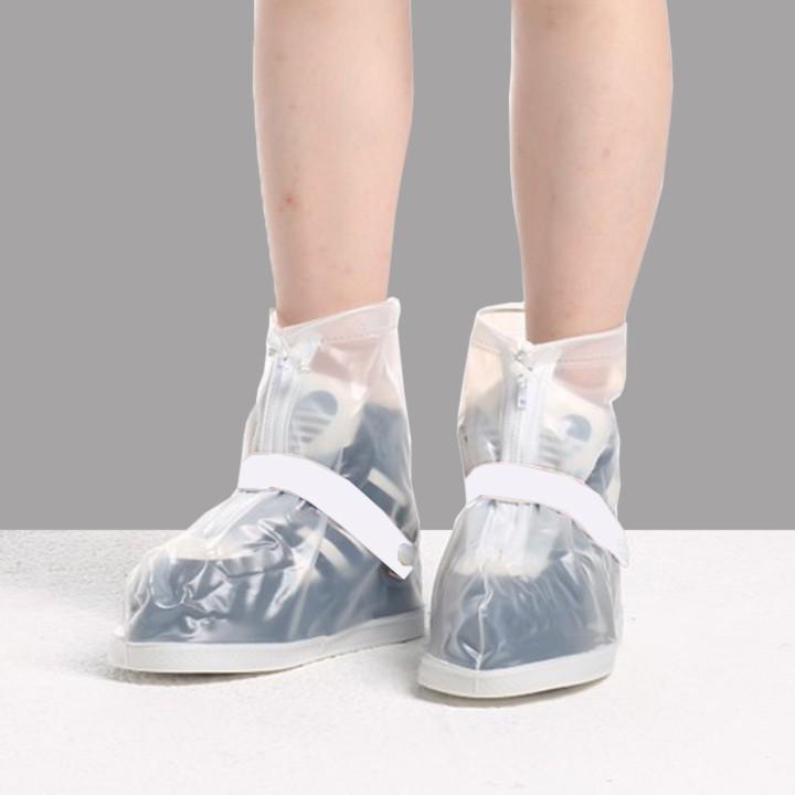 Ủng bọc giày đi mưa chống thấm nước đế cao su chống trượt khóa 2 lớp cao cấp 188 thumbnail