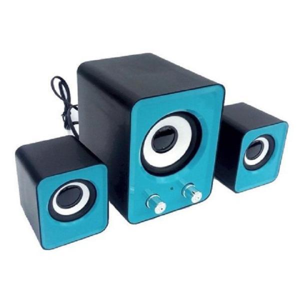 Bảng giá Dàn loa vi tính 2.1 Multimedia 3D Sound RUIZU FT-202 - loa đẹp giá rẻ Phong Vũ