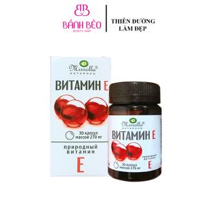 Viên Trắng Da Vitamin E Đỏ Mirrolla Nga thumbnail