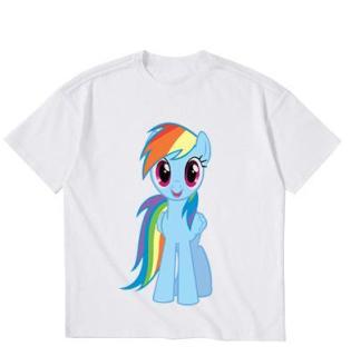 Áo Thun bé gái in hình Twilight Sparkle EBG45 vải polly cotton dày mịn sản phẩm của gian hàng Thời Trang ELSA thumbnail