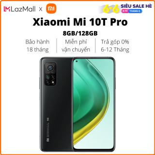 Điện thoại Xiaomi Mi 10T Pro 5G (8GB/128GB)  - Hàng chính hãng DGW - Bảo hành 18 tháng - Trả góp 0%