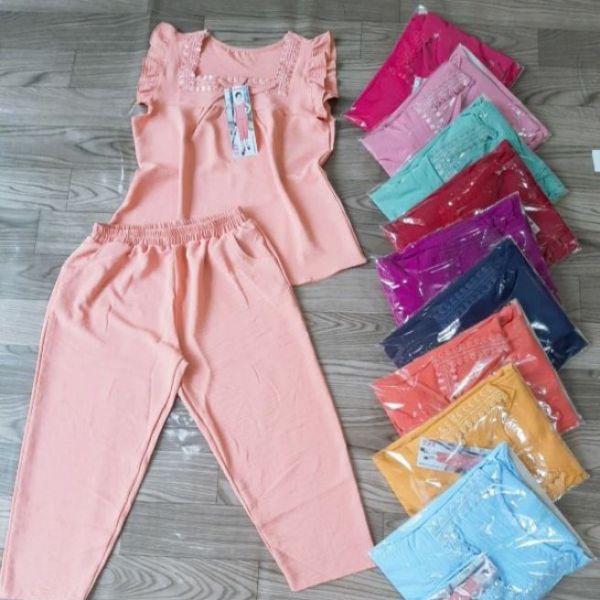 Nơi bán đồ bộ đũi quần 9t mặc nhà dễ thương vs153 vanshop92423