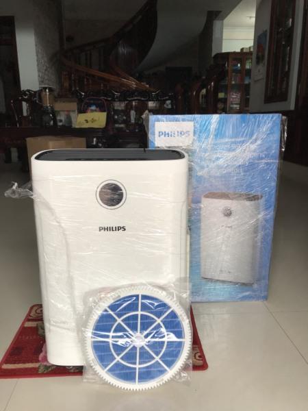 Máy lọc không khí và tạo ẩm Philips AC2721