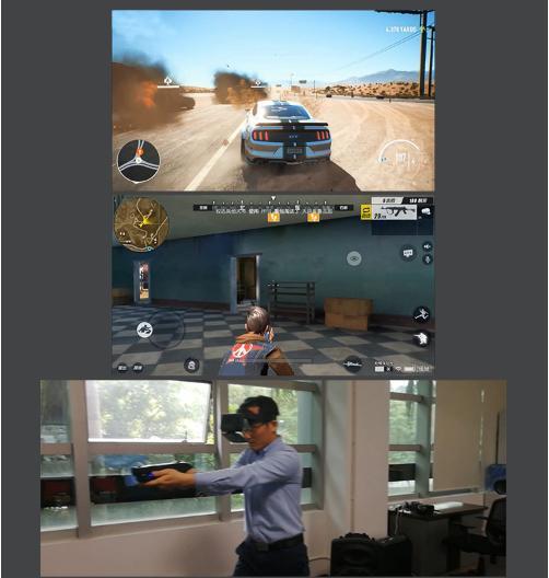 Kính thực tế ảo AR KODENG phiên bản A8 cao cấp, Sản phẩm công nghệ cao - game kính thực tế ảo, chơi game kính thực tế ảo, kính thực tế ảo nào tốt