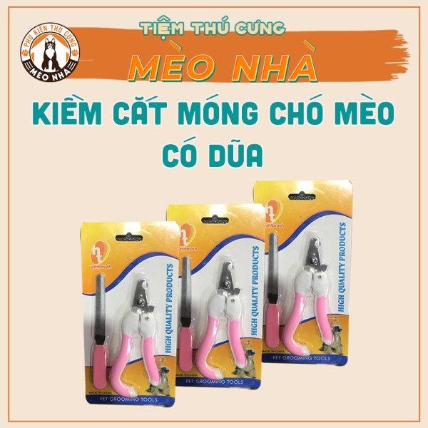 Kềm cắt móng dành cho chó, mèo đủ bộ có kèm giũa
