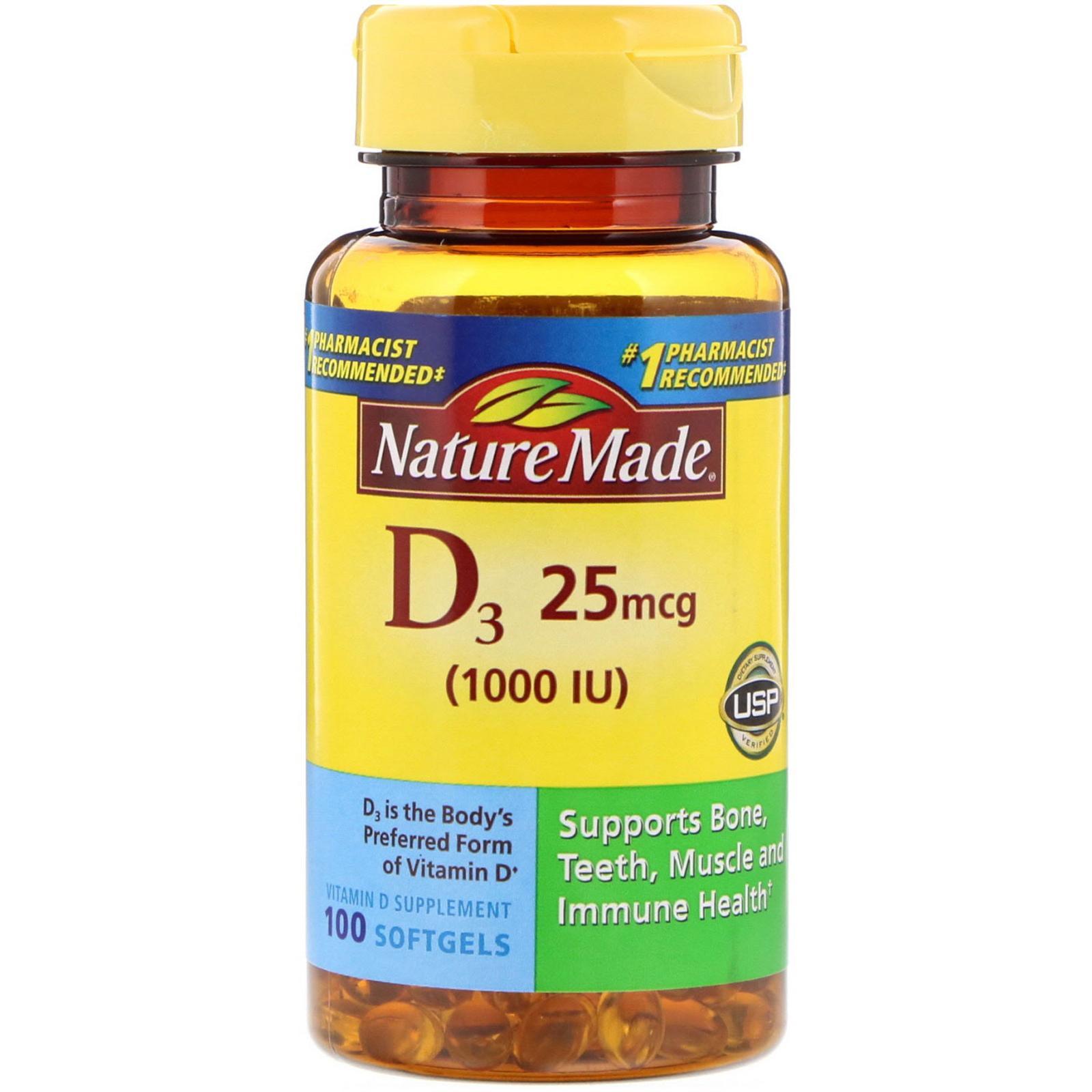Nature Made D3