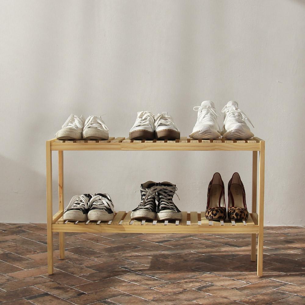 [HCM]Kệ giày dép gỗ Morning House 2 tầng- 2T800