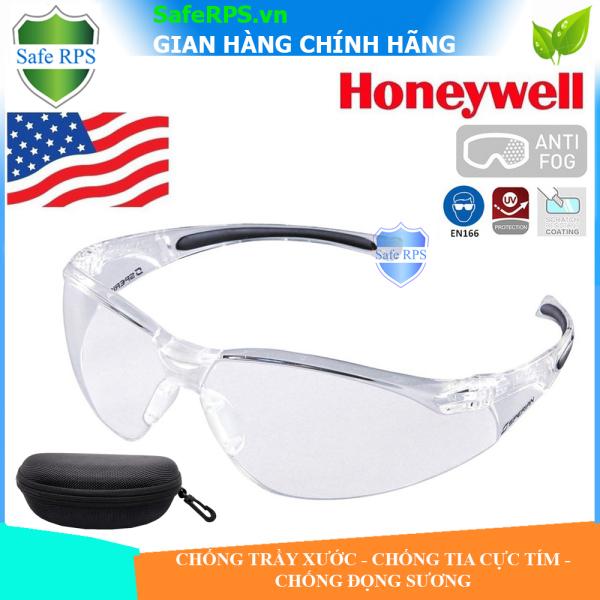 Giá bán Kính Honeywell A800 trắng , chống bụi , chống tia cực tím , chống nước , siêu nhẹ ôm sát mắt , tiêu chuẩn Mỹ - full hộp