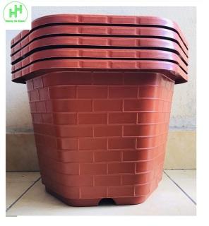 5 Chậu Nhựa Trồng Cây Cảnh, Hoa FA-450 Bình Thuận Plastics thumbnail
