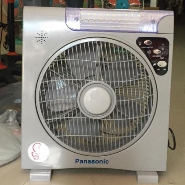 Quạt Tích Điện PANASONIC PN6969 (2 ắc quy)