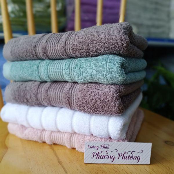 Khăn tắm xuất khẩu cao cấp 40 x 80(180gr), Hàng xuất khẩu dư,khăn cực dày dặn, thấm hút tốt