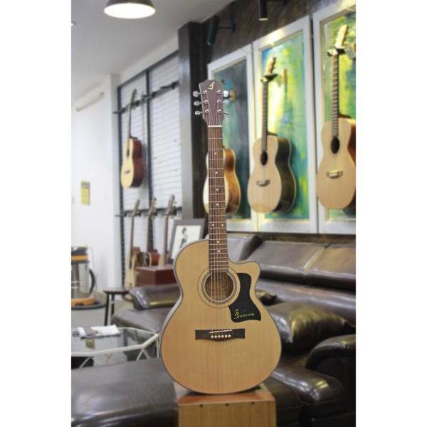 Đàn Guitar Acoustic Ba đờn T70 Giá Rẻ Siêu Chất Lượng + Tặng bao mỏng +capo + pic + ty chỉnh cần