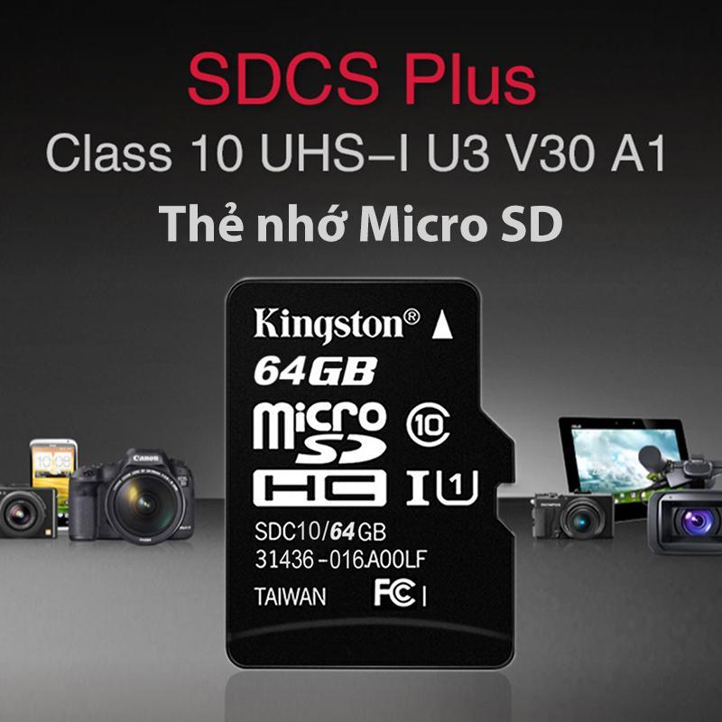 Giá Thẻ Nhớ Micro SD Tốc độ đọc Siêu Nhanh 100MB/S Áp Dụng Rộng Rãi Cho Tất Cả Các Thiết Bị Kỹ Thuật Số Hiện đại