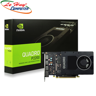 [Trả góp 0%]VGA Card nVidia Quadro P2200 5GB GDDR5x thumbnail