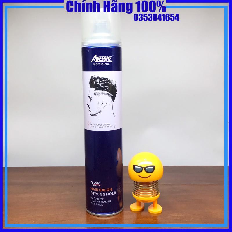 ✅[GÔM AWESOME VA - CHÍNH HÃNG] Gôm xịt tóc - keo vuốt giữ nếp tóc cao cấp awesome VA 320ml- mỹ phẩm tóc yến nhi giá rẻ