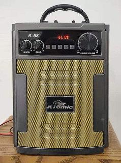 [HCM]Loa Kéo Di Động Bluetooth Karaoke Thùng Gỗ Kiomic K58 59 Loa Kẹo Kéo Karaoke Mini K58 Kèm 1 Micro Không Dây Các Tính Năng Tiện Ích Khác Có Màn Hình Nhỏ Theo Dõi Kết Nối Hiển Thị Dung Lượng Pin Ghi Âm Nghe Đài Fm Hát Karaoke. thumbnail