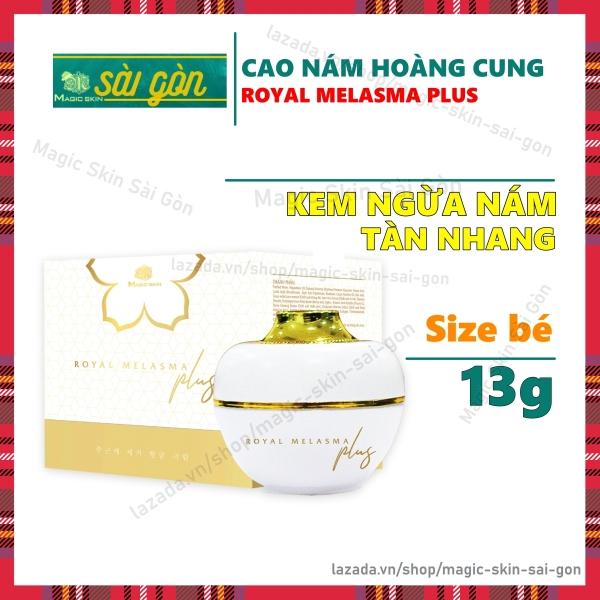 Cao Nám Hoàng Cung Kem Ngừa Nám Tàn Nhang Magic Skin ROYAL MELASMA PLUS Size nhỏ13gr giá rẻ