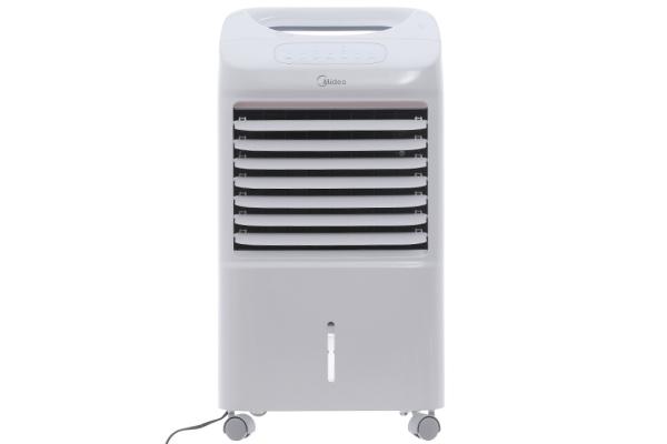 Quạt Điều Hòa MIDEA AC100U (Loại O2B)( HÀNG TRƯNG BÀY).Chức năng tạo ion lọc sạch, tạo sự thoải mái cho bầu không khí. Tấm làm mát lọc sạch bụi bẩn.