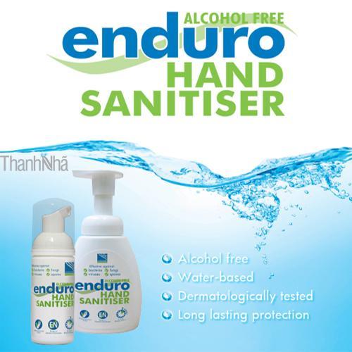 Dung dịch sát khuẩn tay dạng bọt không cồn Enduro Hand Sanitiser 200ml