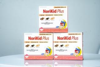 [Freeship + Qùa 20k] Norikid Plus Siro ăn ngon 20 ống 10ml siro ăn ngon,tốt cho đường tiêu hóa, chống táobón...tặng 20 khẩu trang thumbnail