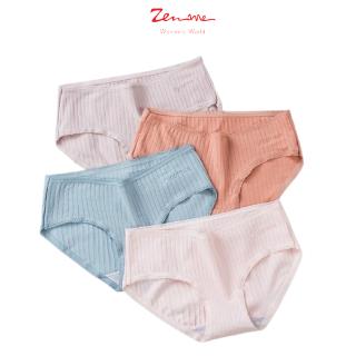 Zen Me Combo 05 Quần Lót Chất Liệu Tăm Cao Cấp 100% Cotton Siêu Mềm Mịn Thoáng Mát thumbnail