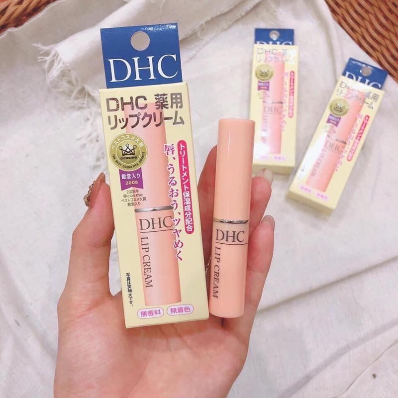 [Có MÃ Giảm Giá] Son Dưỡng Môi DHC Pure Color Lip Cream Stick 1.5g làm môi hồng quyến rũ - Dâu Tây Shop giá rẻ