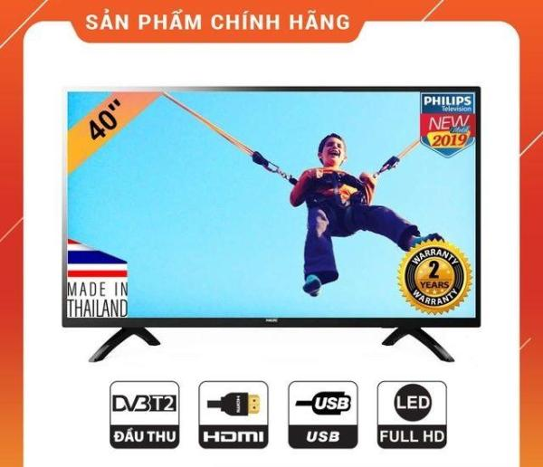 Bảng giá Tivi LED Philips 40 Inch Full HD - 40PFT5063S/74 (Model 2019)