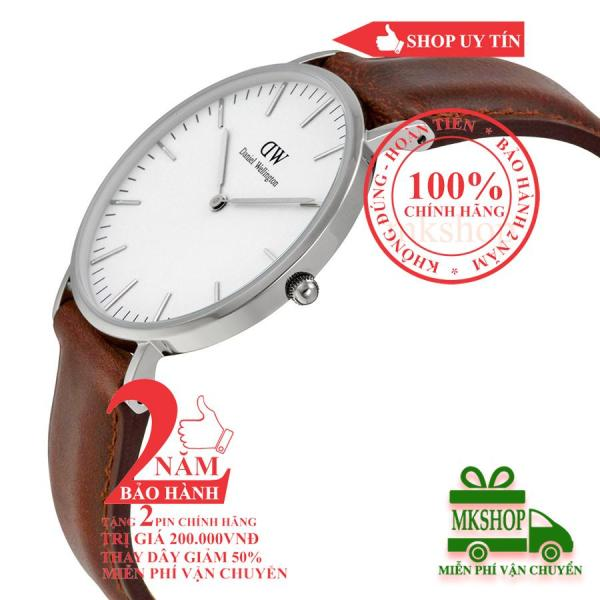 Đồng hồ thời trang nữ DanieI Wellington Classic St Mawes- 36mm - Màu Bạc(Silver) DW00100052 / 0607DW