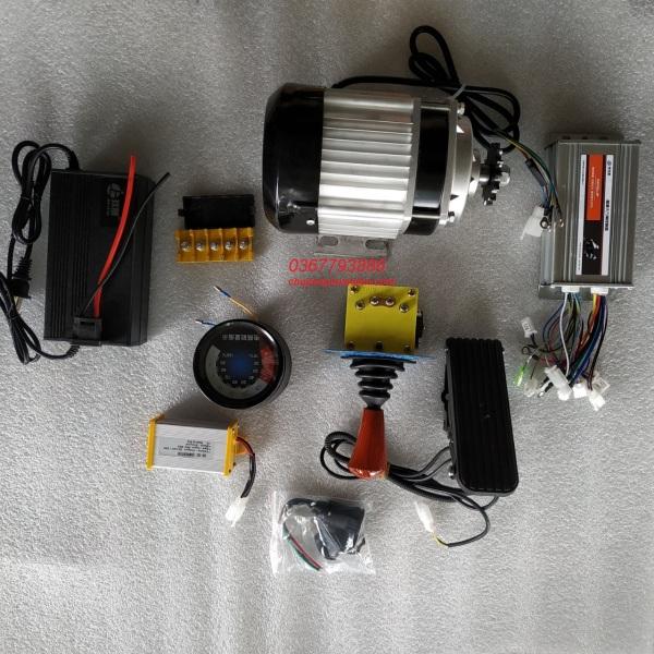 Mua Combo phụ kiện chế xe ô tô điện 4 bánh, xe chở hàng,.....động cơ ba pha 48v 800W