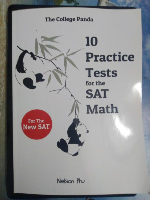The College Pandas 10 Practice Tests for the SAT Math