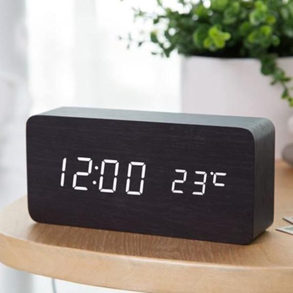 Đồng Hồ Để Bàn Điện Tử Led báo thức BT11 chuông to trang trí thông minh cao cấp màn hình LCD có hiển thị nhiệt độ bán chạy