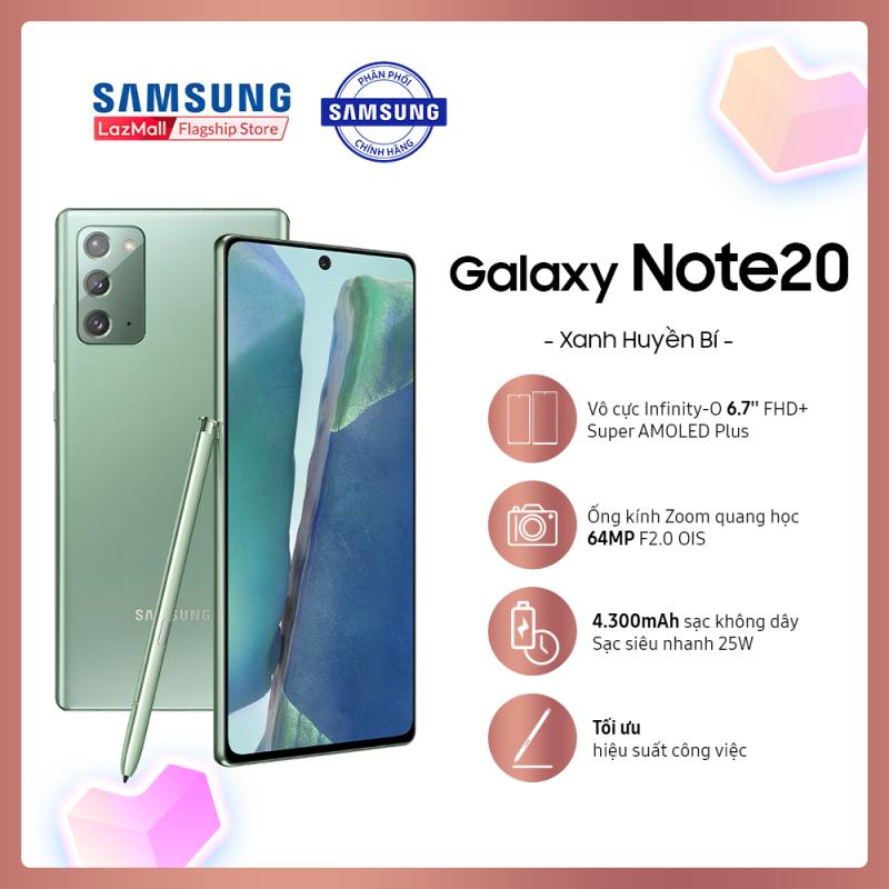 DUY NHẤT 21.08   TẶNG GALAXY BUDS+  VOUCHER 2.5 TRIỆU   Điện thoại Samsung Galaxy Note20 - Hàng phân phối chính hãng